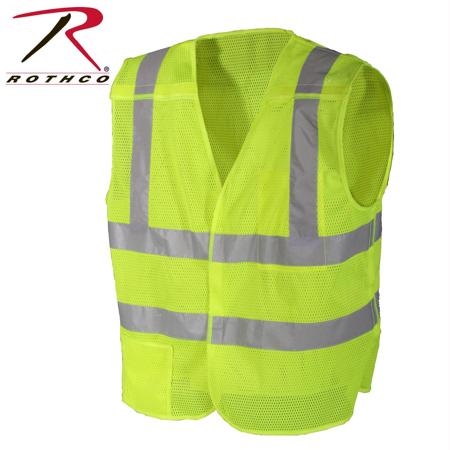 Rothco 5-point Breakaway Vest - Neon Yellow / Oversized