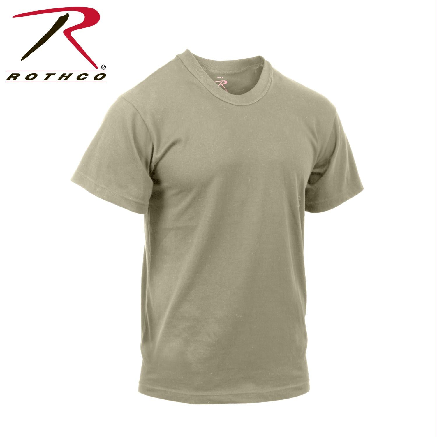 Rothco Moisture Wicking T-Shirts - Desert Sand / XL
