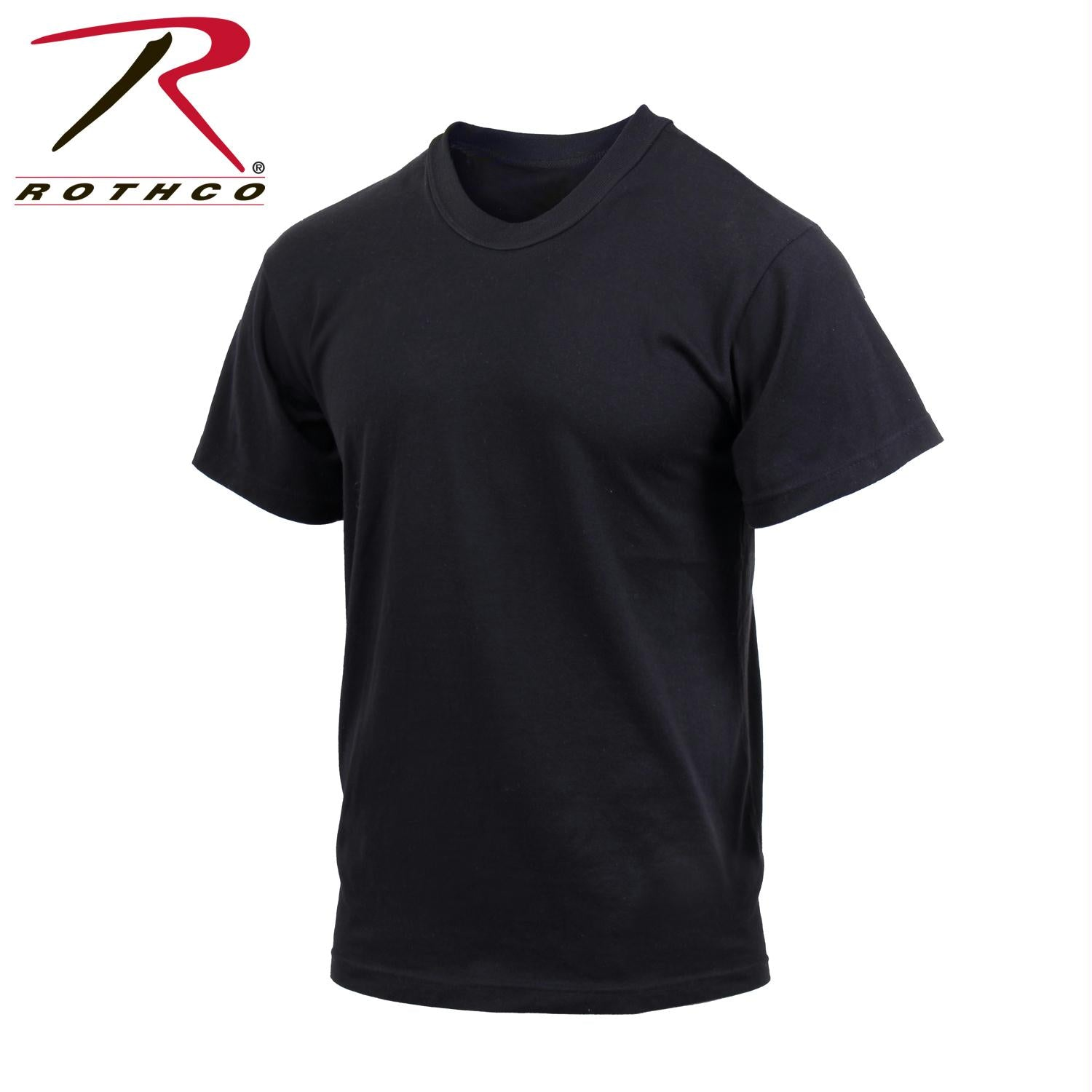 Rothco Moisture Wicking T-Shirts - Black / S