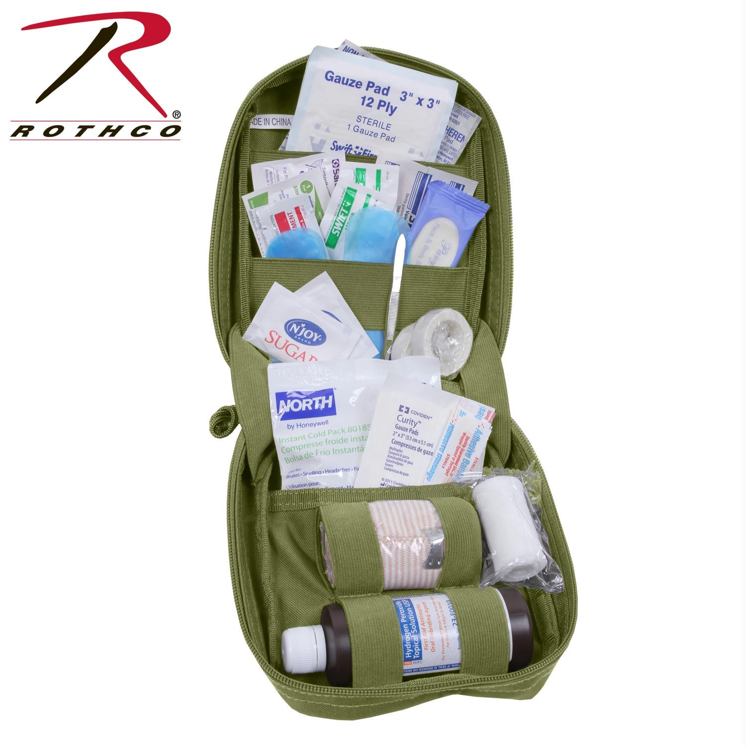 Rothco MOLLE Tactical First Aid Kit - Olive Drab