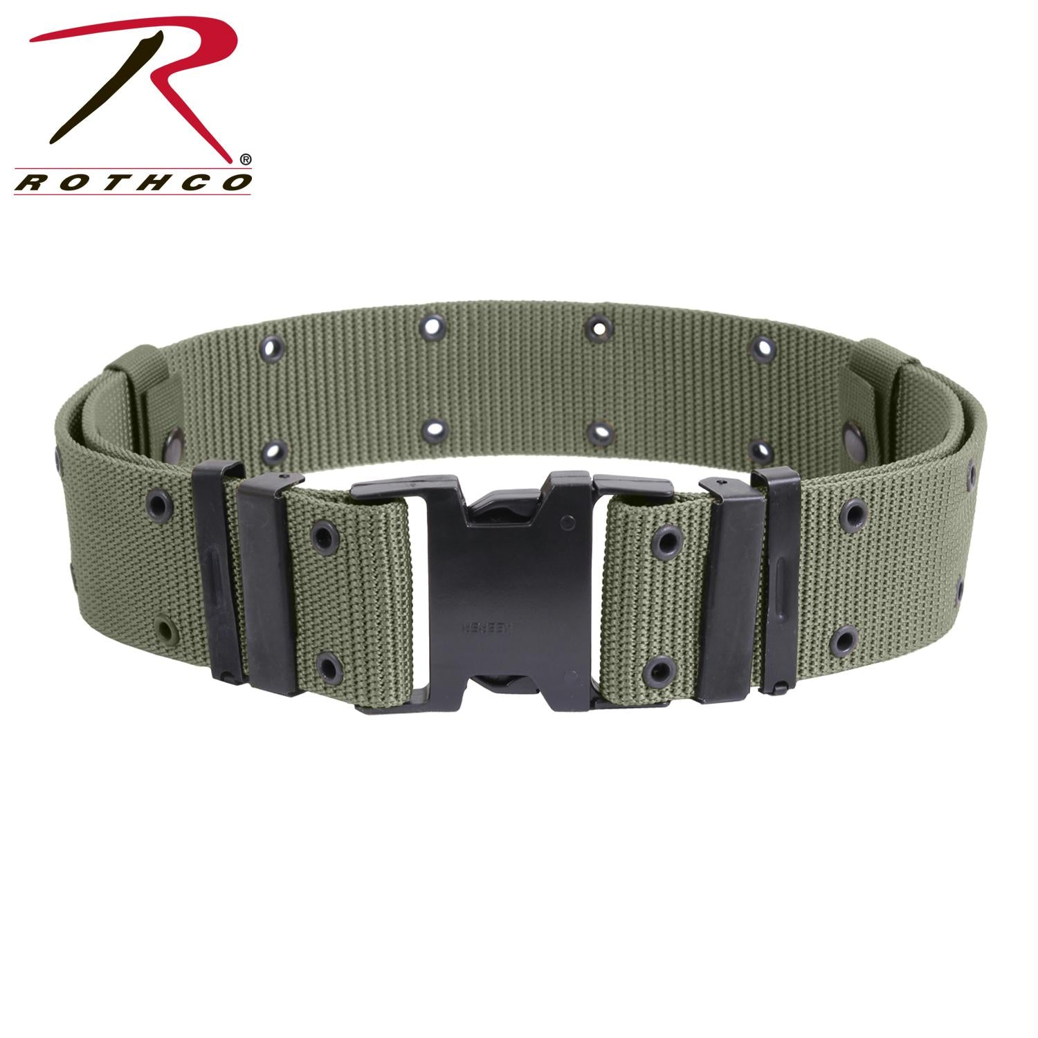 Rothco New Issue Marine Corps Style Quick Release Pistol Belts - Foliage Green / M