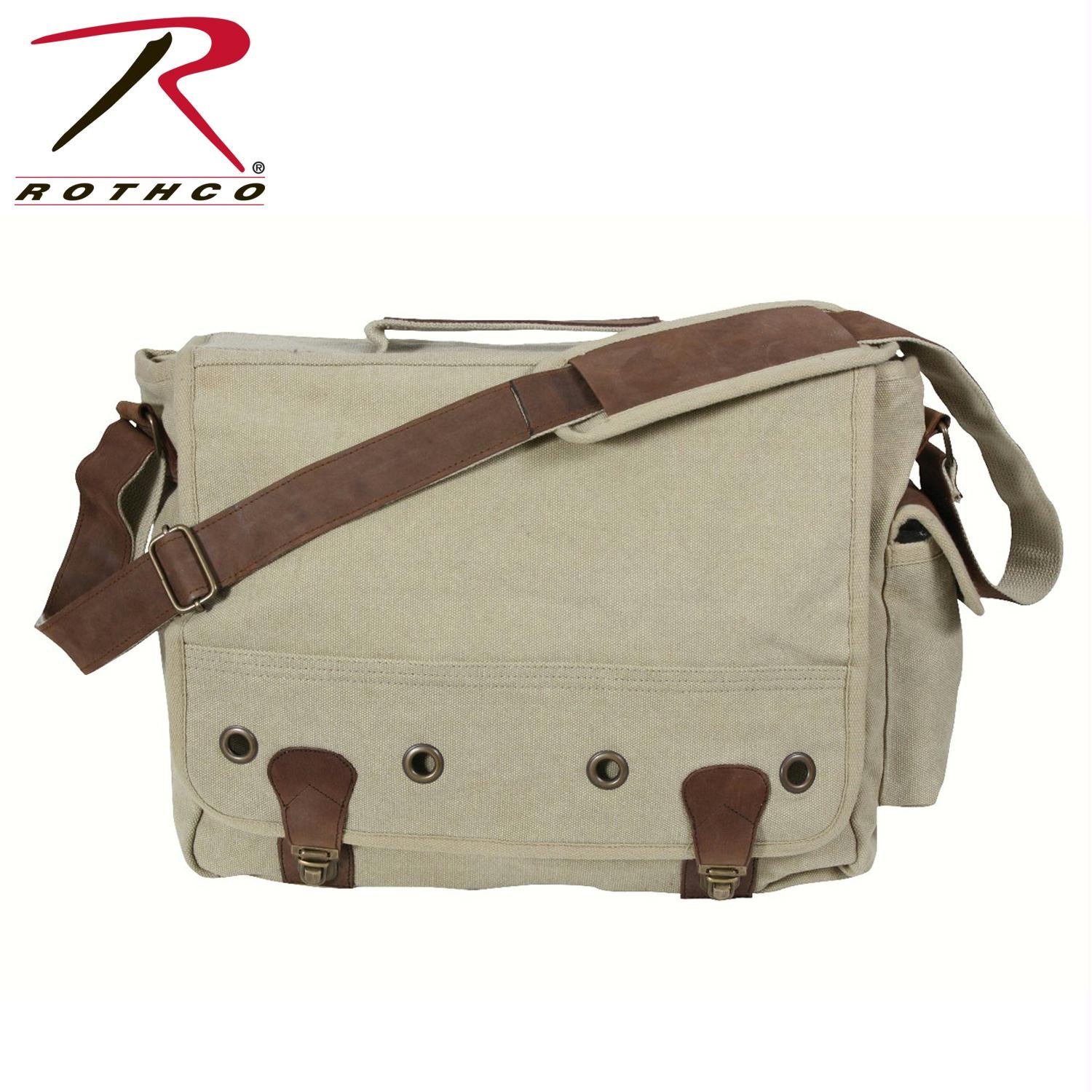 Rothco Canvas Trailblazer Laptop Bag - Khaki