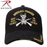 Rothco Deluxe Low Profile Special Forces Insignia Cap