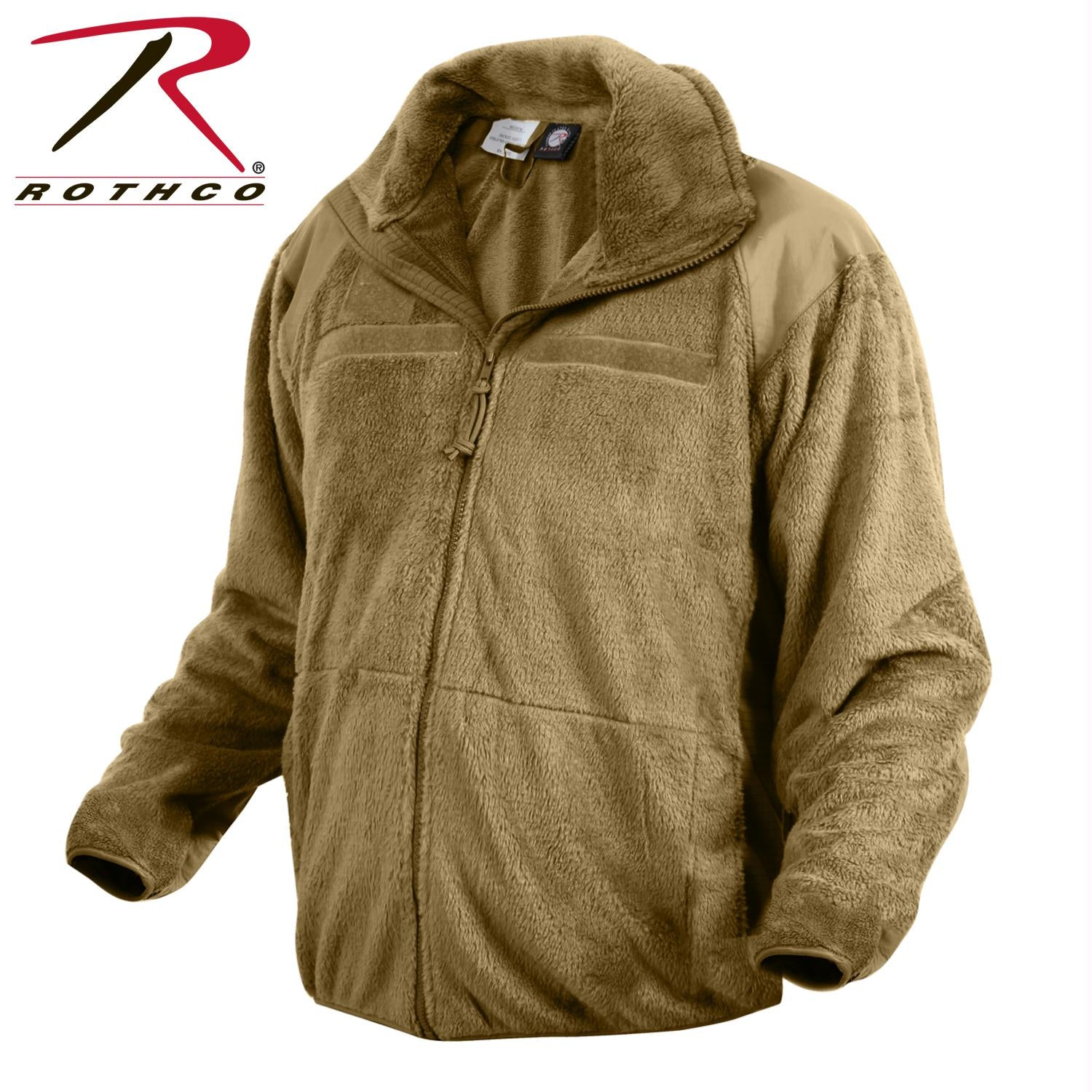 Rothco Generation III Level 3 ECWCS Fleece Jacket - Coyote Brown / L
