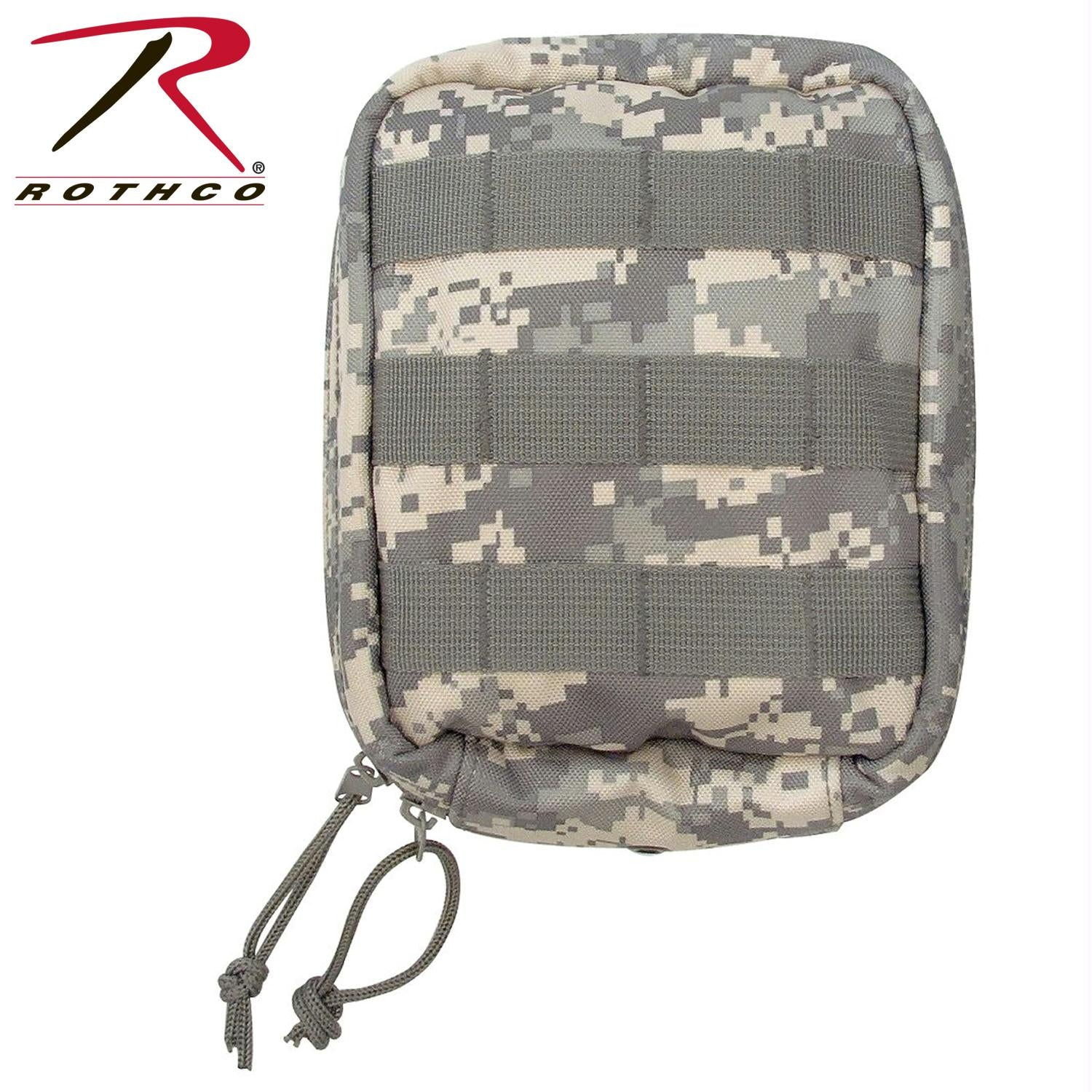Rothco MOLLE Tactical Trauma & First Aid Kit Pouch - ACU Digital Camo
