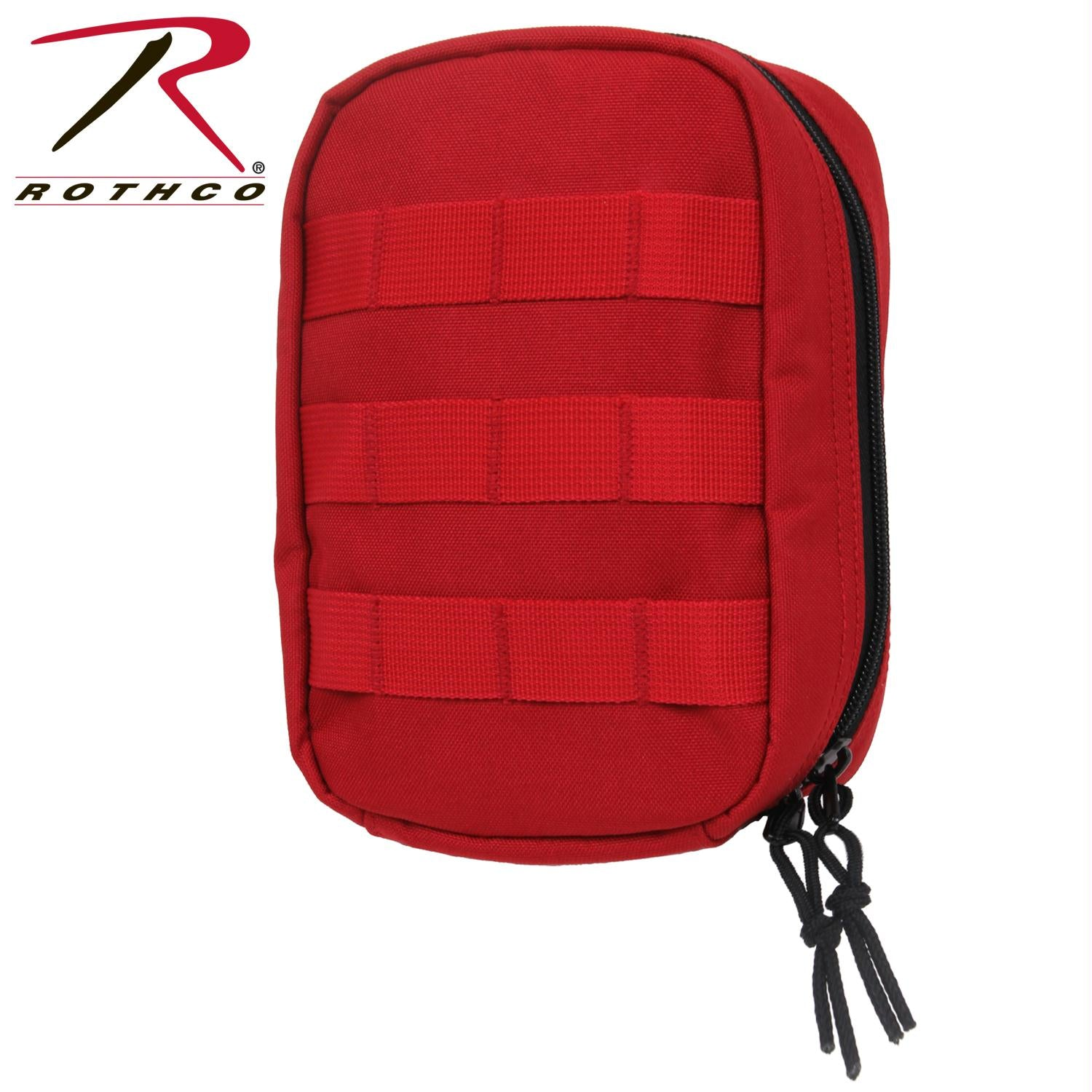 Rothco MOLLE Tactical Trauma & First Aid Kit Pouch - Red
