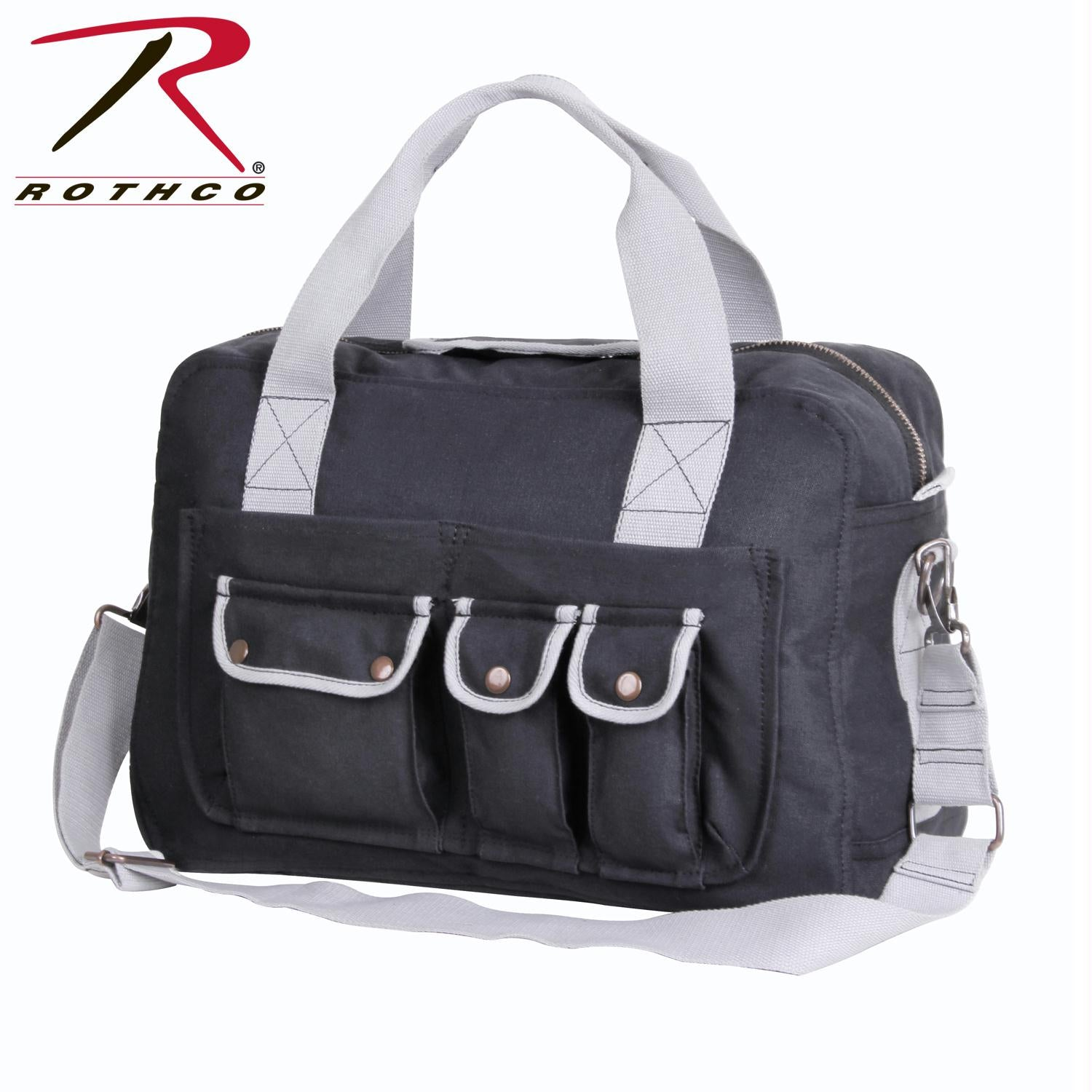 Rothco Two Tone Specialist Carry All Shoulder Bag - Grey