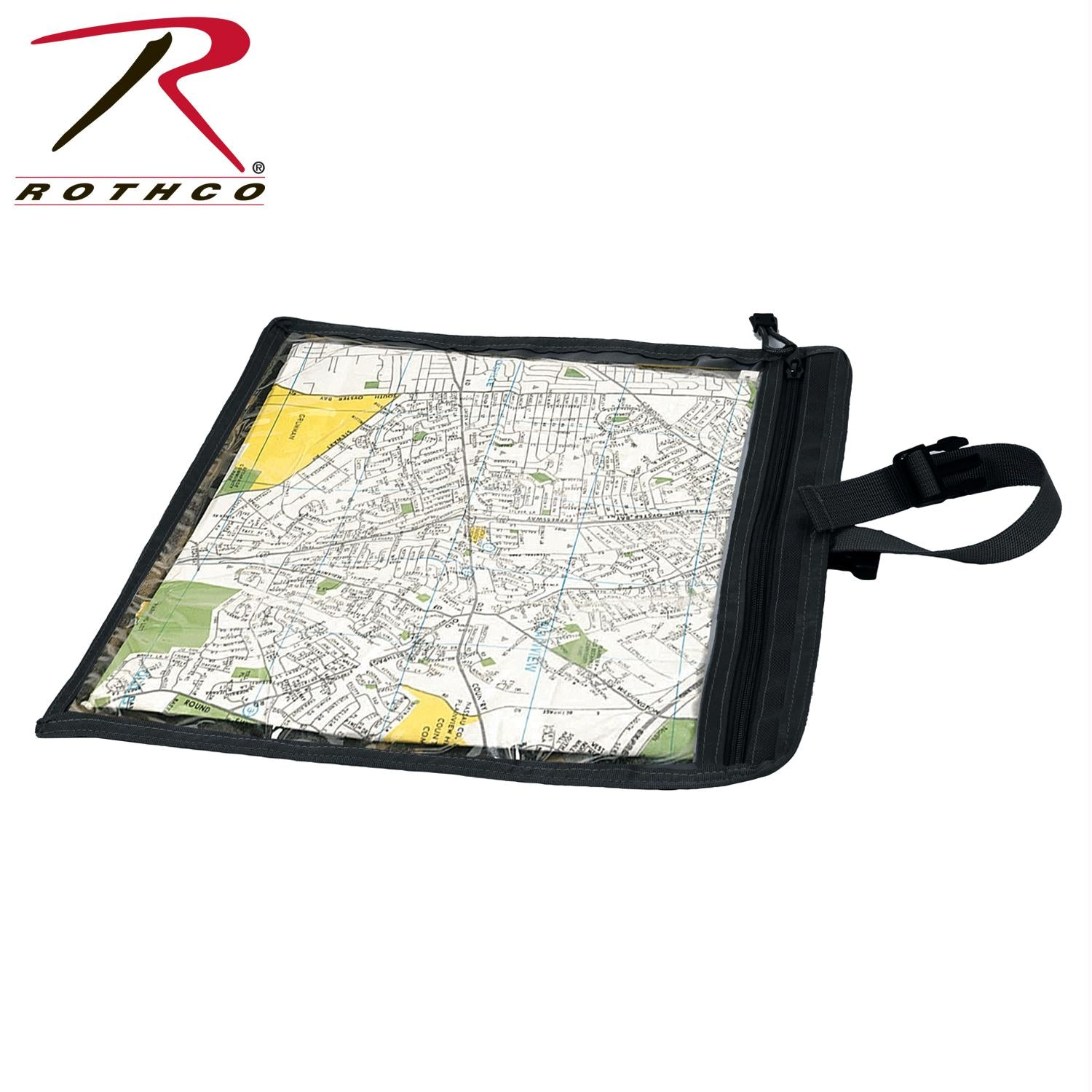 Rothco Map and Document Case - Black