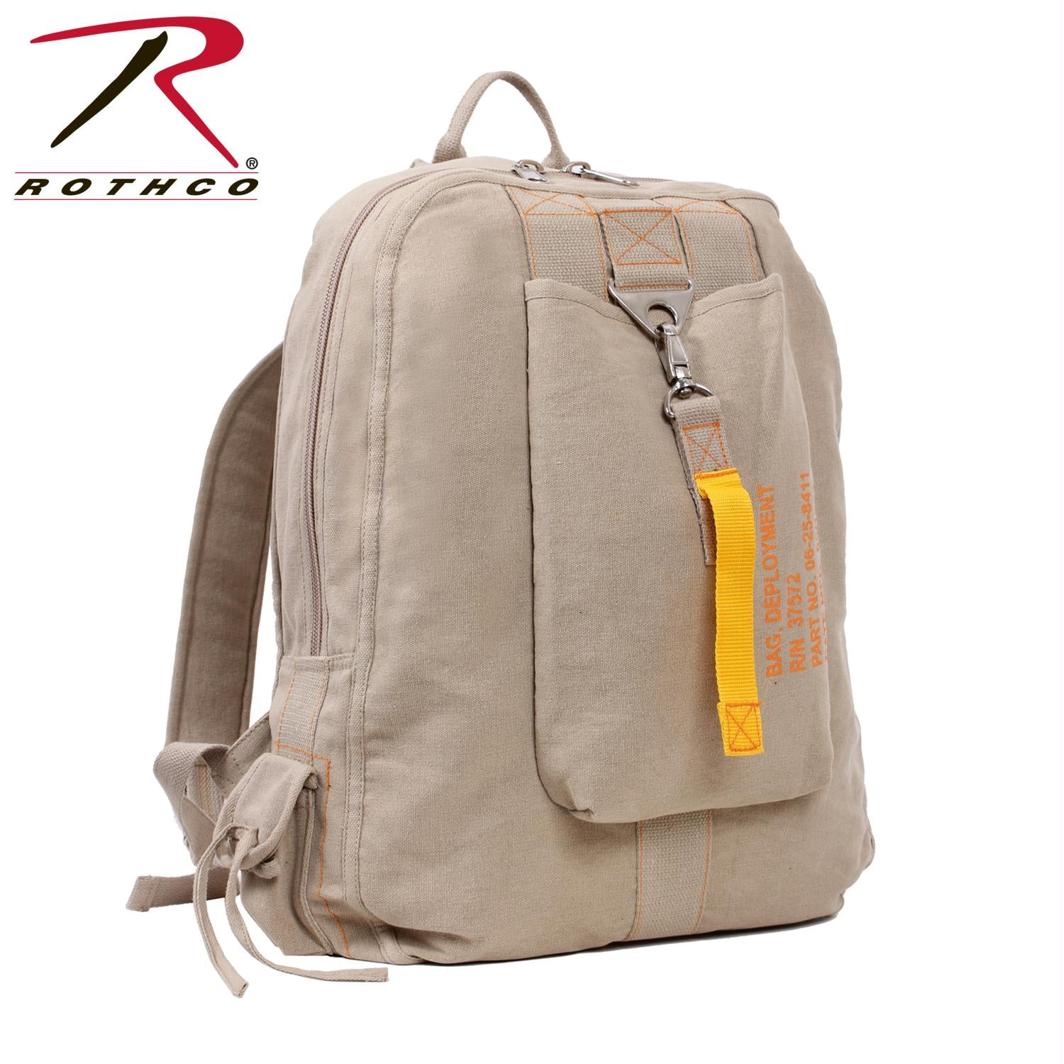 Rothco Vintage Canvas Flight Bag - Khaki