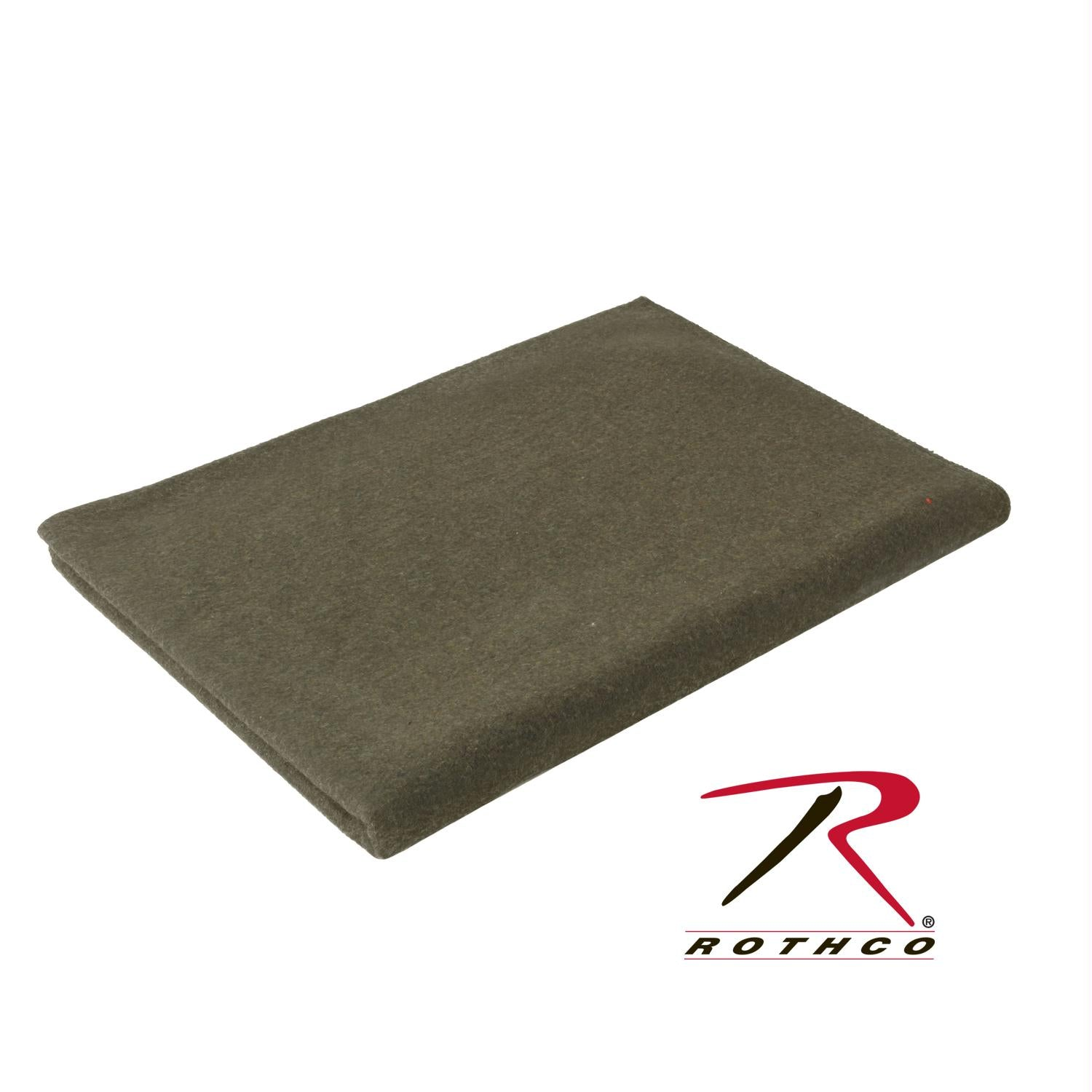 Rothco Wool Blanket - Olive Drab / 66