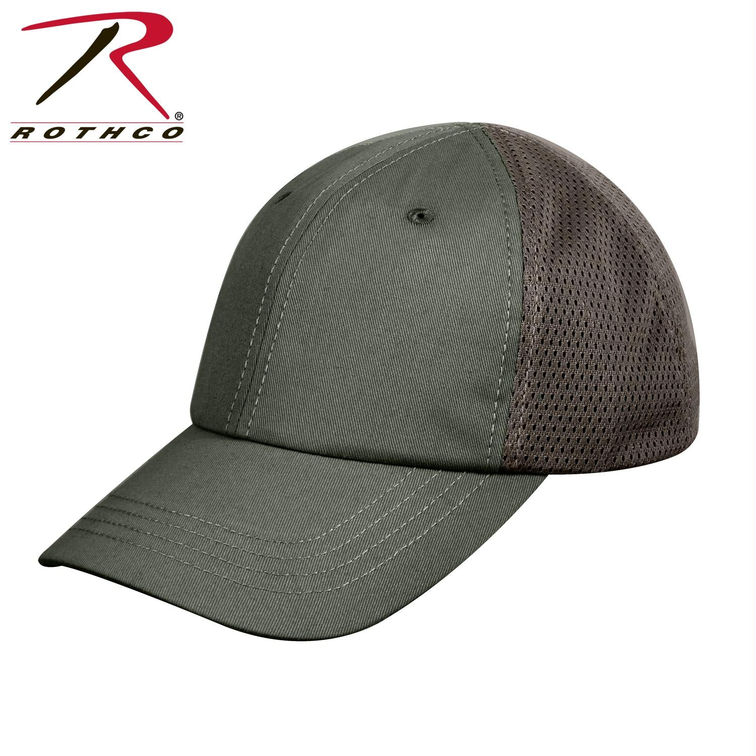 Rothco Mesh Back Tactical Cap - Olive Drab / One Size