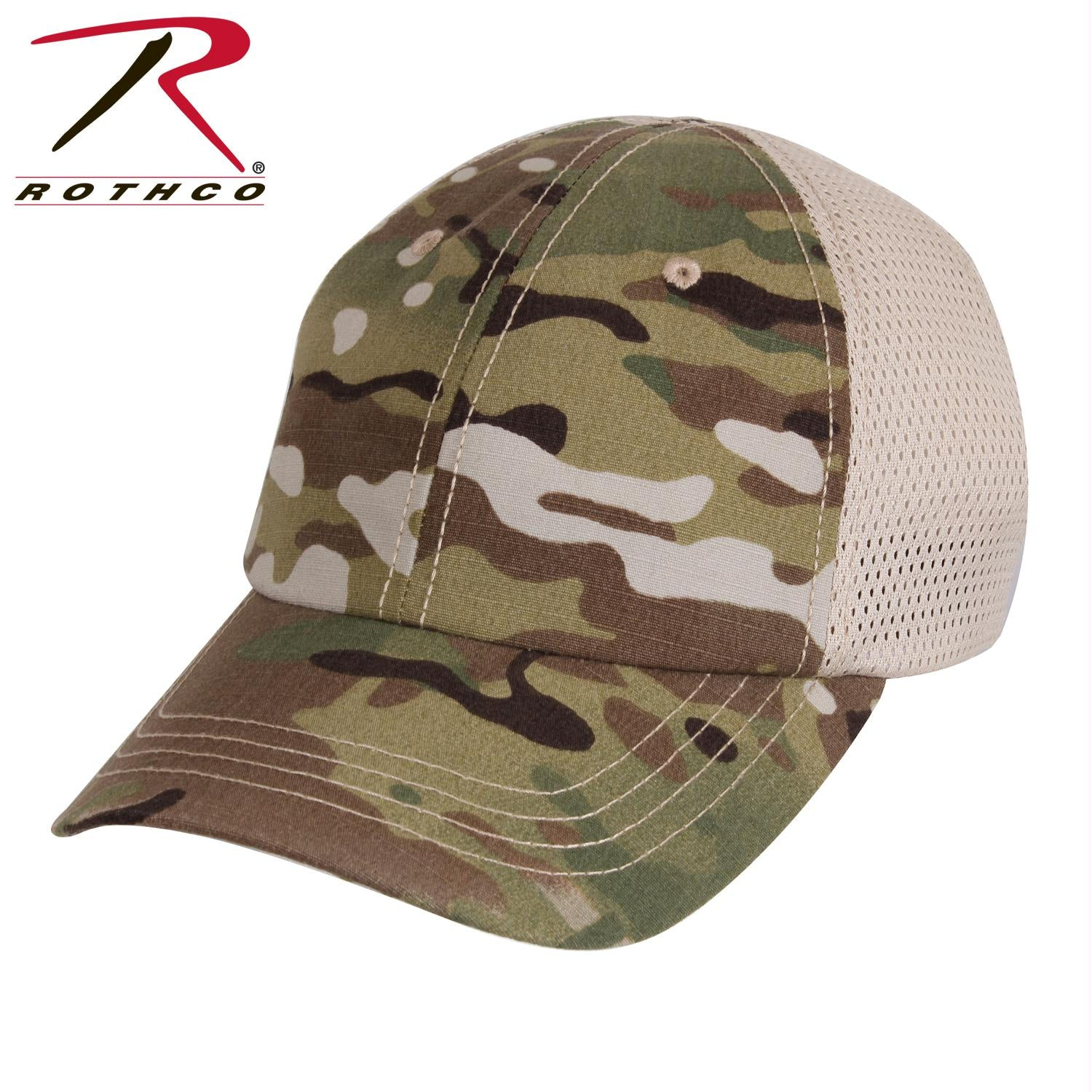 Rothco Mesh Back Tactical Cap - MultiCam / One Size