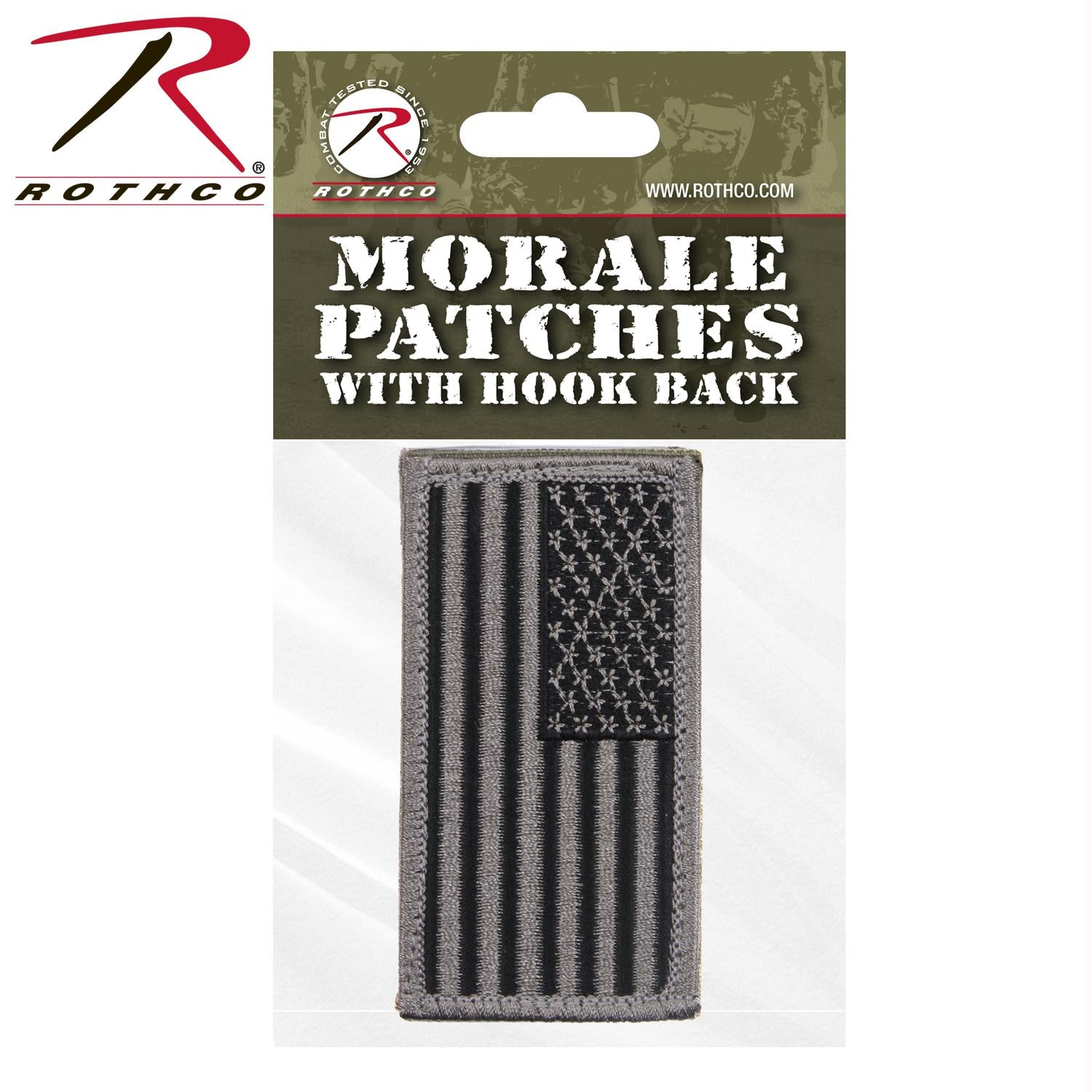 Rothco American Flag Patch - Foliage Green / Normal / Header Card
