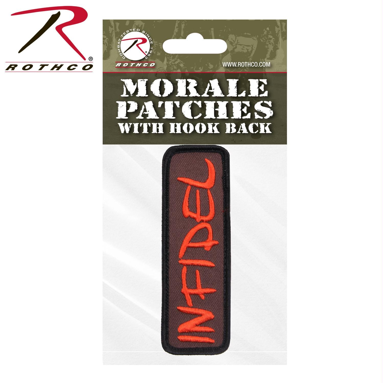 Rothco Infidel Morale Patch - Header Card