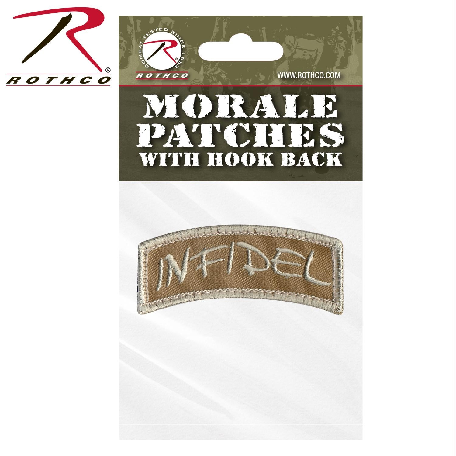 Rothco Infidel Shoulder Morale Patch - Bulk Packaging