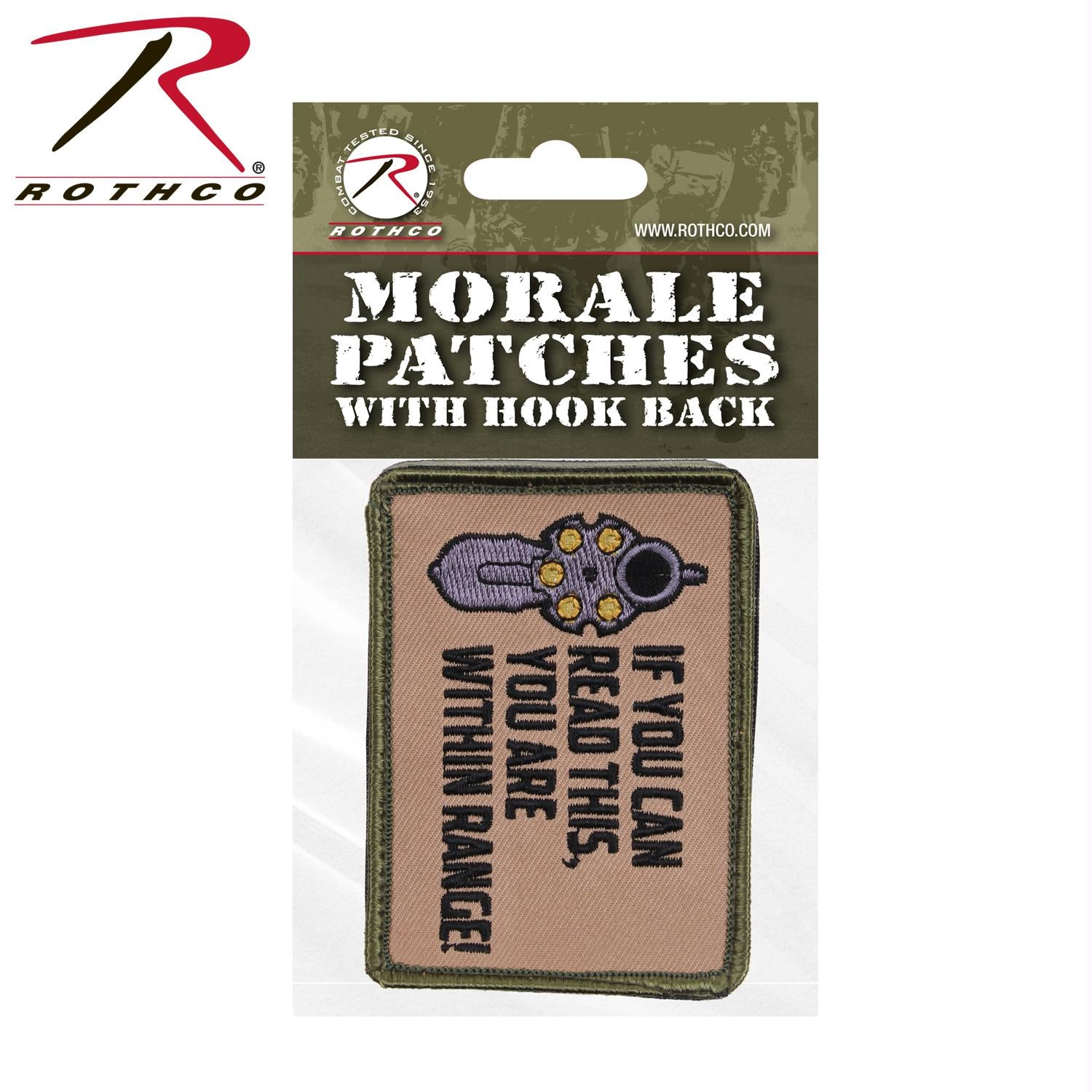 Rothco If You Can Read This Morale Patch - Header Card