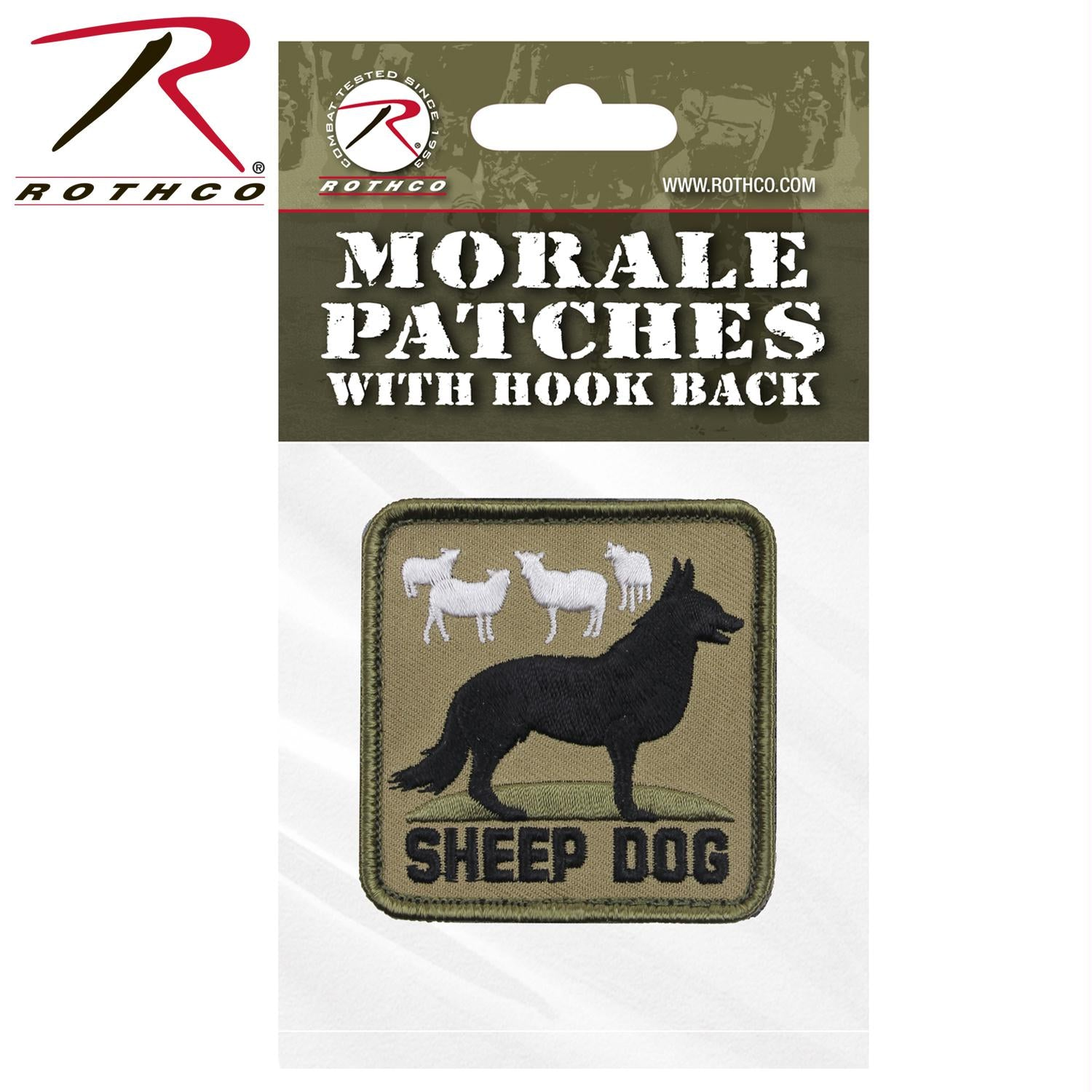 Rothco Sheep Dog Morale Patch - Bulk Packaging