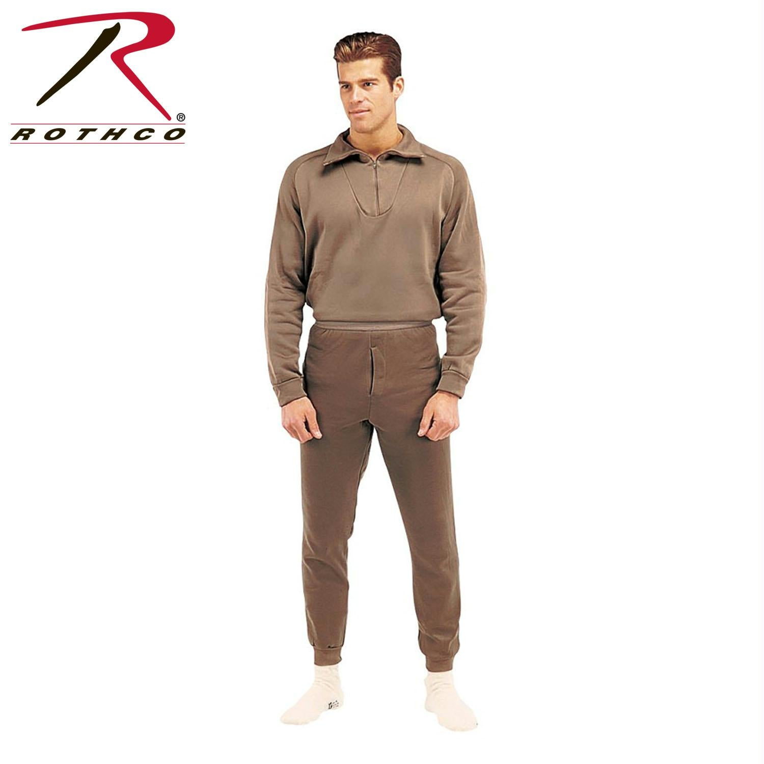 Rothco ECWCS Poly Bottoms - Brown / XL