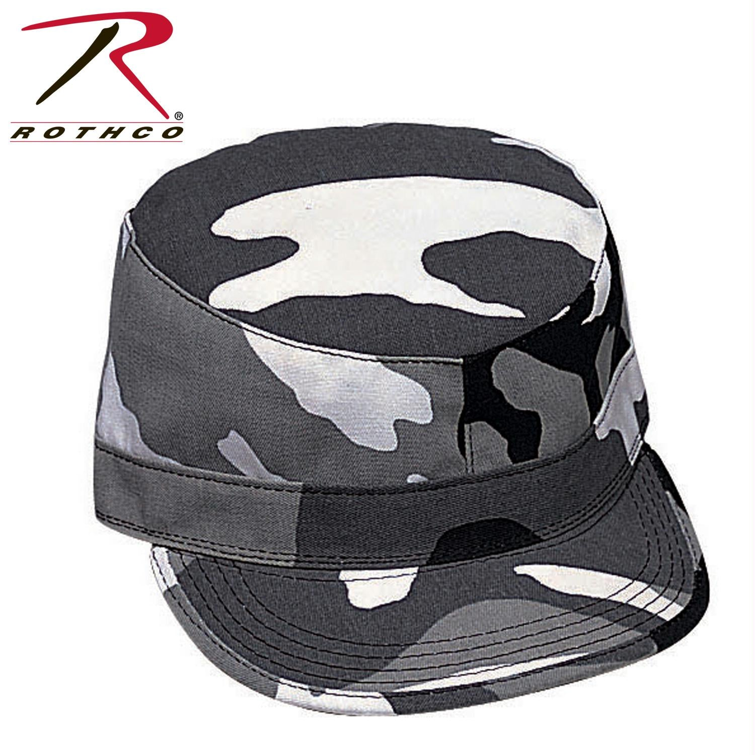 Rothco Camo Fatigue Caps - City Camo / 2XL