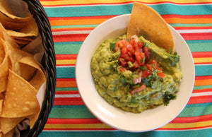 Flaxseed Oil Recipe - Hot Cha Cha Guacamole