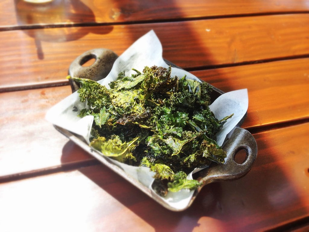 Extra Virgin Olive Oil Recipe - Baked Kale Chips - Paleo