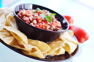 Salsa With Organic Pumpkin Seed Oil that is Gluten Free, Organic and Paleo!