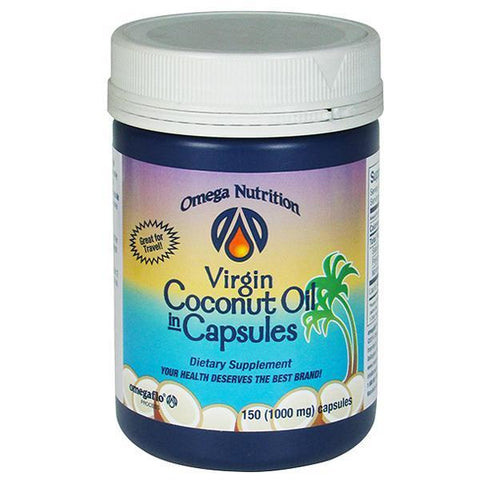 Virgin Coconut Oil Caps - Omega Nutrition Inc