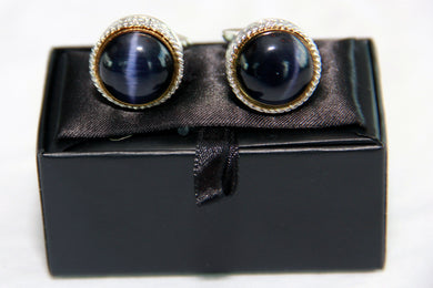 Blue Cuff Links