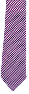 purple white houndstooth