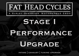 Milwaukee-Eight Harley-Davidson® Stage I Performance Upgrade at Fat Head Cycles