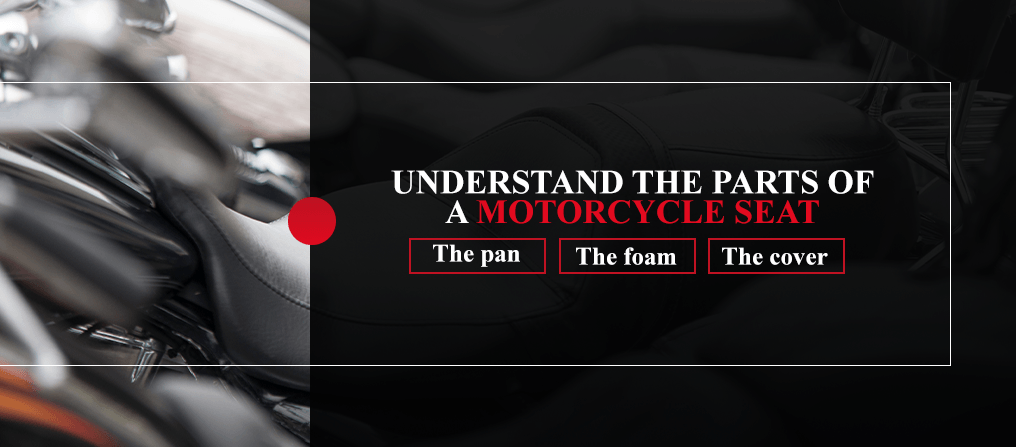Understand the Parts of a Motorcycle Seat [list]