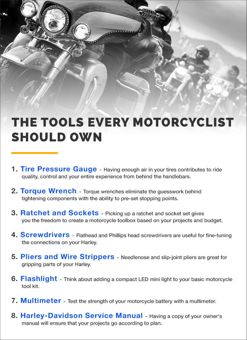 The Tools Every Motorcyclist Should Own