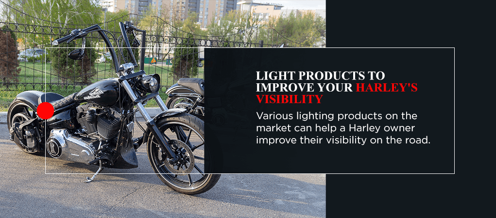 Light Products to Improve Your Harley's Visibility