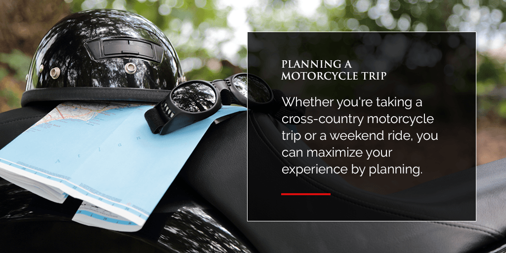 Planning a Motorcycle Trip