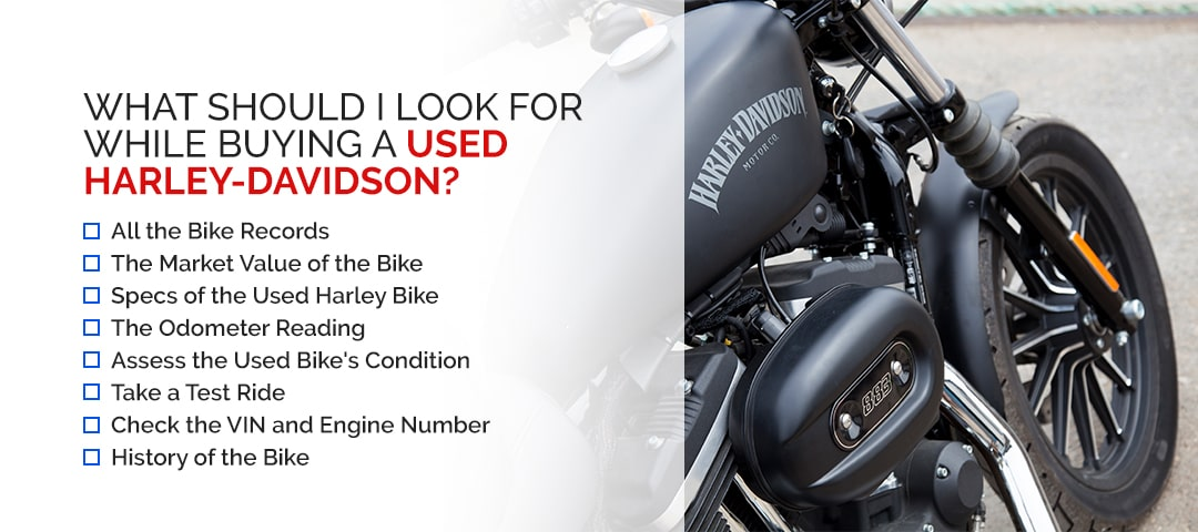 What Should I Look for While Buying a Used Harley-Davidson?