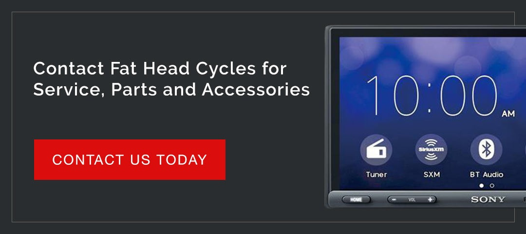 Contact Fat Head Cycles for Service, Parts and Accessories