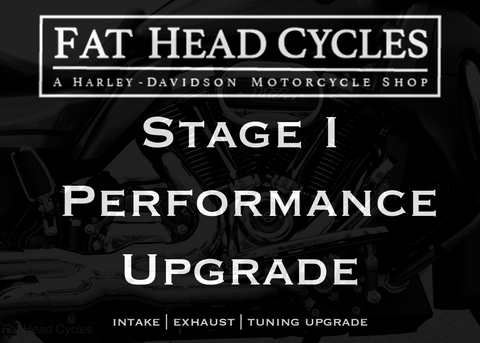 Harley-Davidson Stage 1 Performance Upgrades at Fat Head Cycles
