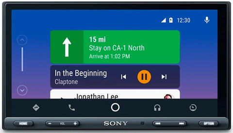 Sony XAV-AX5000 with Android Auto