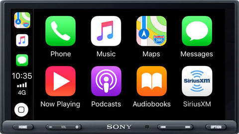 Sony XAV-AX5000 with Apple CarPlay