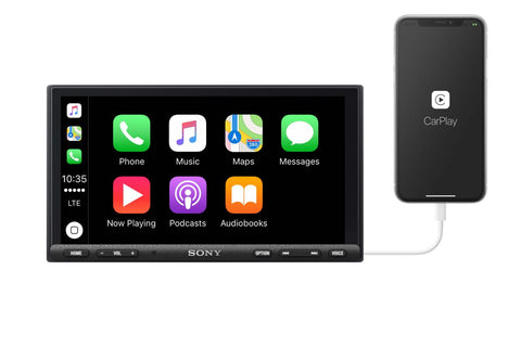Sony XAV-AX7000 Apple CarPlay Harley-Davidson