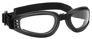 Daniel Smart Manufacturing Goggles 4525 Nomad Goggle Black Frame- Clear Lens