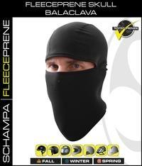 Daniel Smart Manufacturing Head/Neck/Sleeve Gear BLCLV100-F Fleeceprene Skull Balaclava