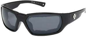 Daniel Smart Manufacturing Sunglasses 8CP927-MIX Choppers Foam Padded Sunglasses - Assorted - Sold by the D