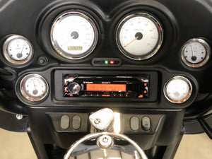 Fat Head Cycles Harley-Davidson Audio Bundles Sony MEX-M72BT H-D Plug and Play & Rockford Fosgate Fairing Speaker Bundle w/ Sirius/XM Tuner | '06 -'13 Harley-Davidson® Street Glide