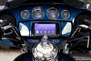Fat Head Cycles Harley-Davidson Custom Audio 2014-2020 Harley-Davidson Street/Road Glide & Ultra Classic - Sony XAV-AX7000 & Sony Fairing Speaker Audio Bundle
