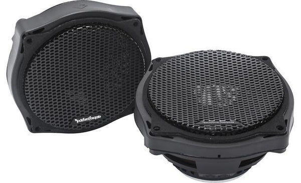 "Fat Head Cycles Harley-Davidson Custom Audio Open Box: Rockford Fosgate 6.5"" Fairing Speakers 