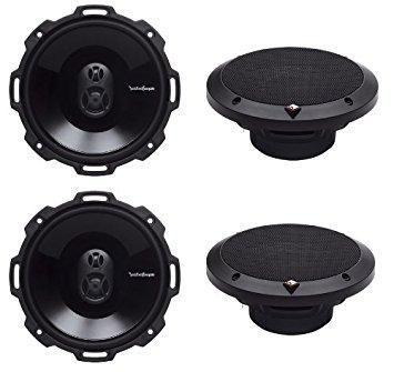 "Fat Head Cycles Harley-Davidson Custom Audio Open Box: Rockford Fosgate 6.75"" 3-Way Full Range Speakers 