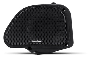"Fat Head Cycles Harley-Davidson Custom Audio Rockford Fosgate 6.5"" Full Range Fairing Speakers 