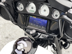 Fat Head Cycles Harley-Davidson Custom Audio Sony XAV-AX5000 Plug & Play Bundle w/ Metra 95-9700 Dash Kit | '14 - '19