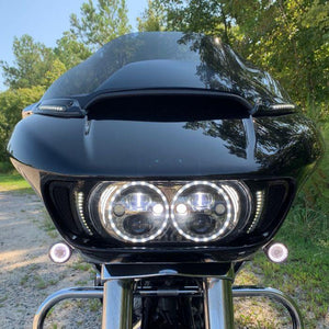Fat Head Cycles Harley-Davidson Custom Lighting Custom Dynamics 2015-2020 Road Glide LED Dynamic Windshield Trim